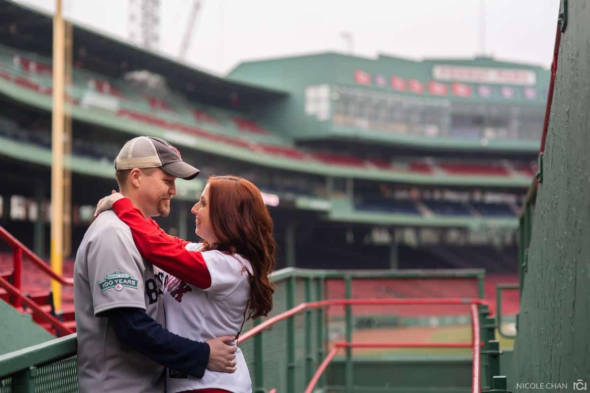 Megan-Rob-055-fenway-park-engagement-boston-massachusetts-nicole-chan-photography