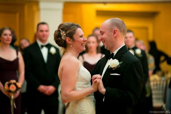 Boston Lenox Hotel wedding photos on a rainy fall wedding day