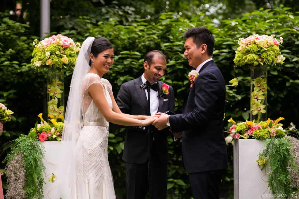 Boston Mandarin Oriental wedding photos in Back Bay, Boston, MA