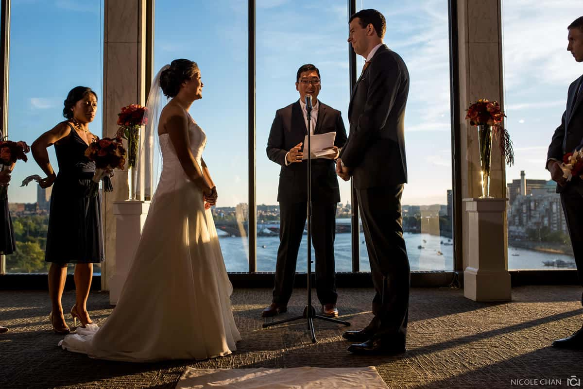 MOS Skyline Room wedding