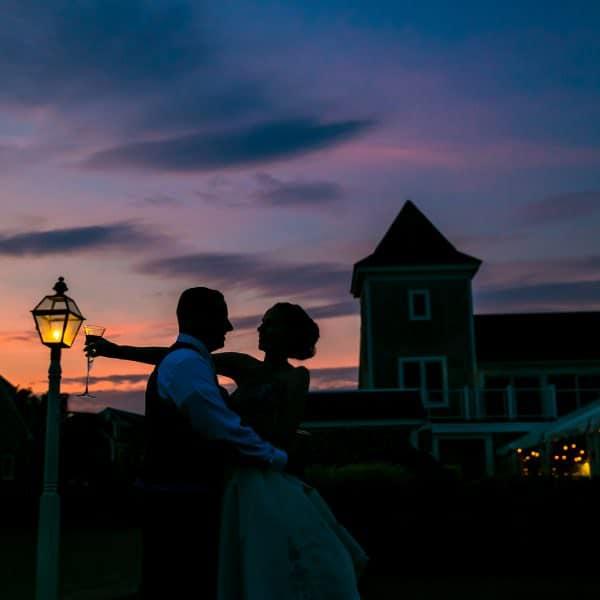 Wychmere wedding on the beach in Harwich Port, MA