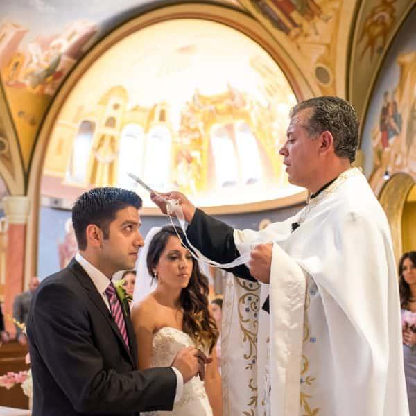 Greek wedding photos at Venezia in Boston, MA