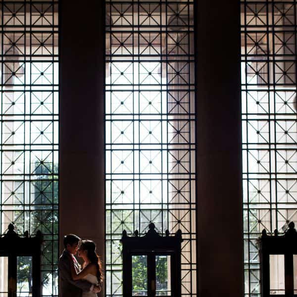 MIT Chapel wedding ceremony and Boston Museum of Science Pavilion wedding reception