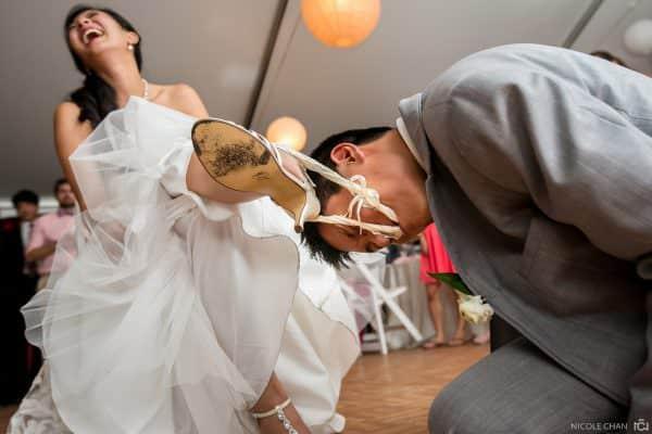 MIT Chapel wedding ceremony and Boston Museum of Science Pavilion wedding reception