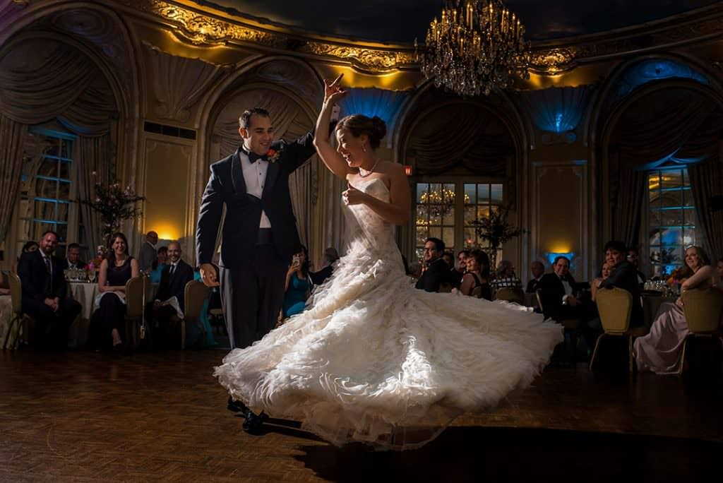 Fairmont Copley Boston Hotel wedding