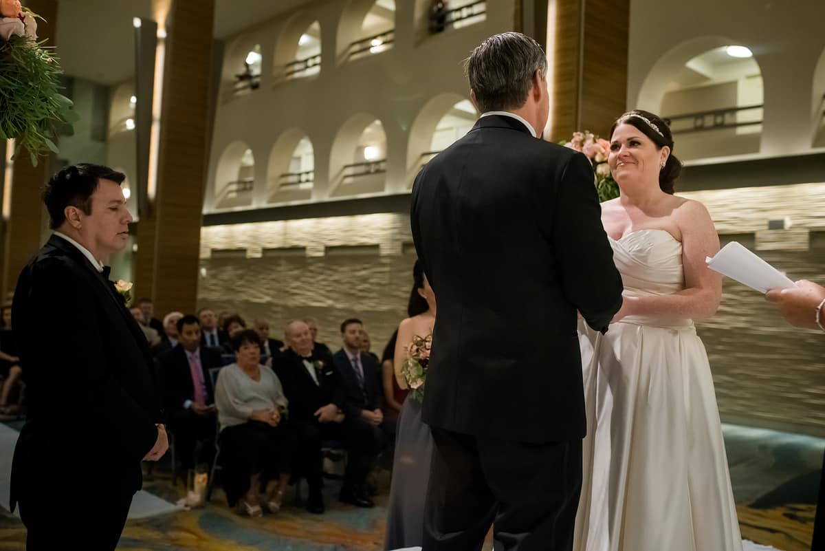 Boston Marriott Long Wharf wedding