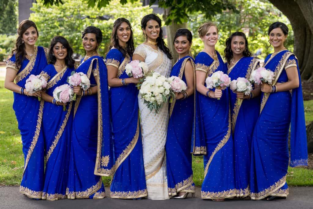 Indian Boston InterContinental Hotel ballroom wedding