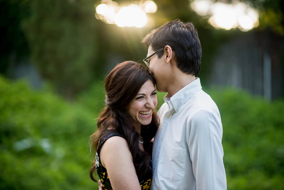 Arnold Arboretum engagement session photos