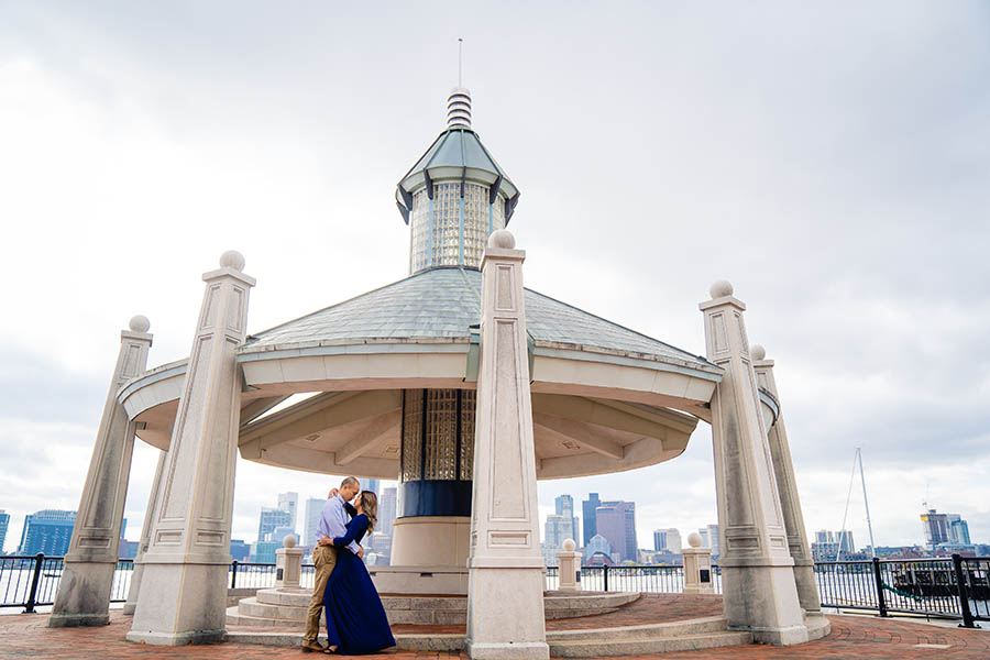 Piers Park  engagement session photo