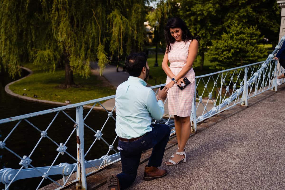 Boston Public Garden Proposal Photography Boston Common Proposal Photography Nicole Chan Photography