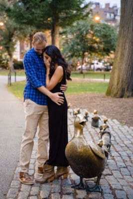 Boston Proposal Photos in Boston Common by Nicole Chan Photography