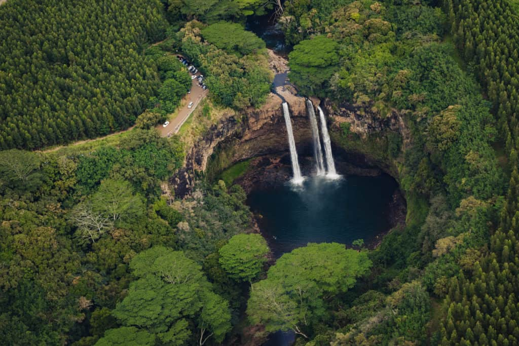Doors off helicopter tour of Na Pali in Kauai, Maui by Travel Photographer Nicole Chan