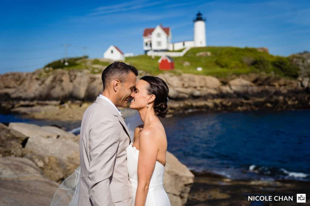 Maine wedding photographer by Nicole Chan Photography