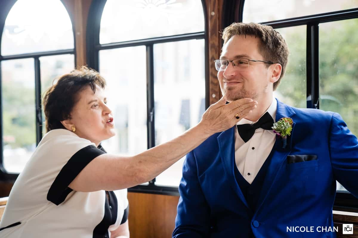 Colorful Boston Museum summer wedding photos by Boston Wedding Photographer Nicole Chan Photography