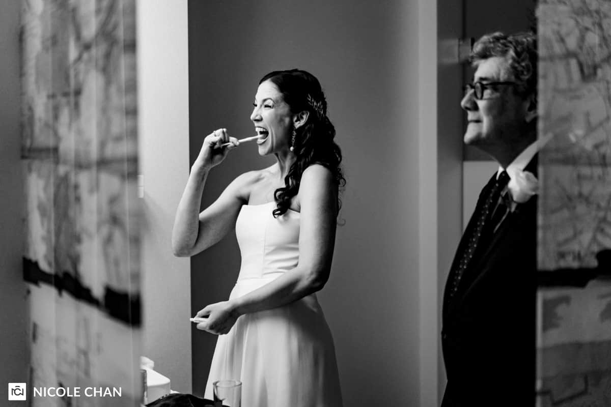 Artists for Humanity Epicenter Boston Wedding Ceremony and Reception by Nicole Chan Photography