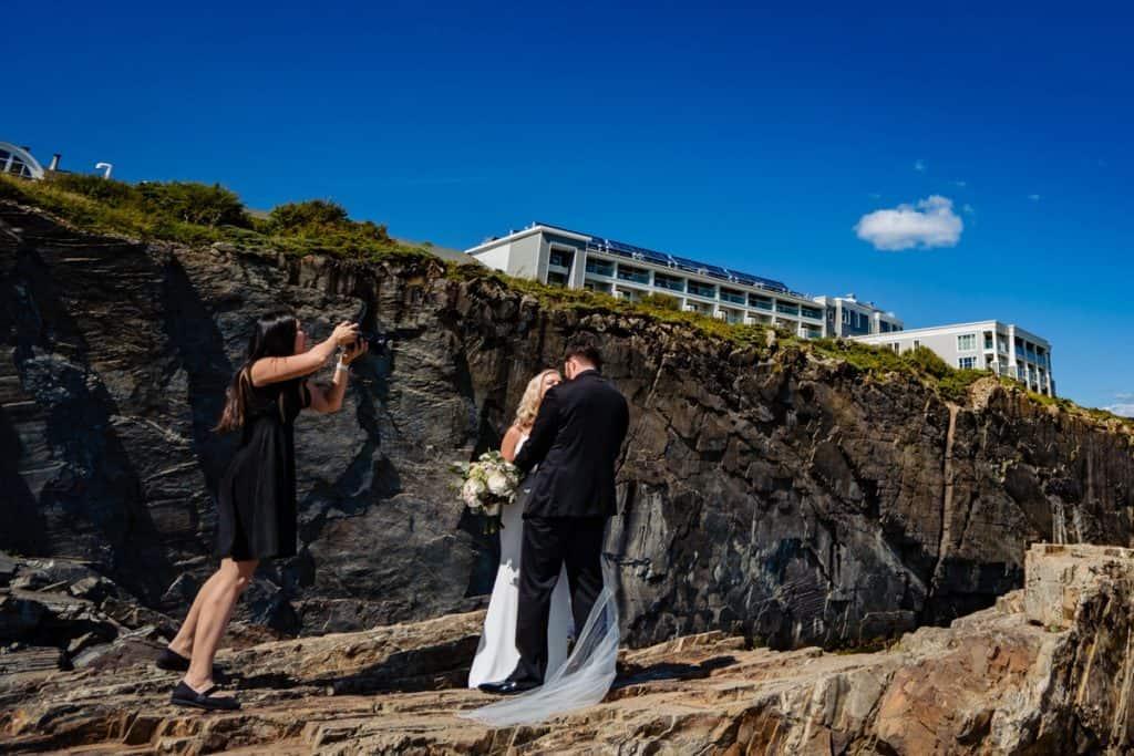 Cliff House Maine Wedding Photographer Nicole Chan