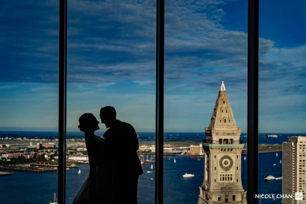 Boston State Room Wedding Photos Best Boston Skyline Wedding Photos Nicole Chan Photography