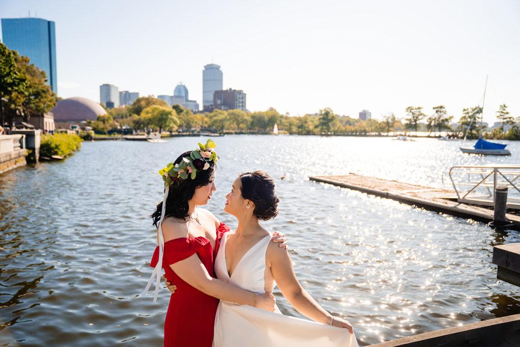 Boston Liberty Hotel Wedding - Gay Wedding - Lesbian Wedding