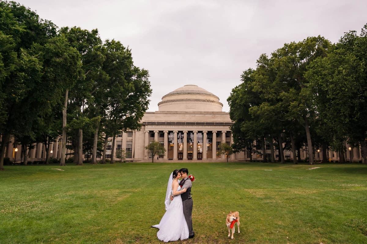 Boston micro wedding at MIT