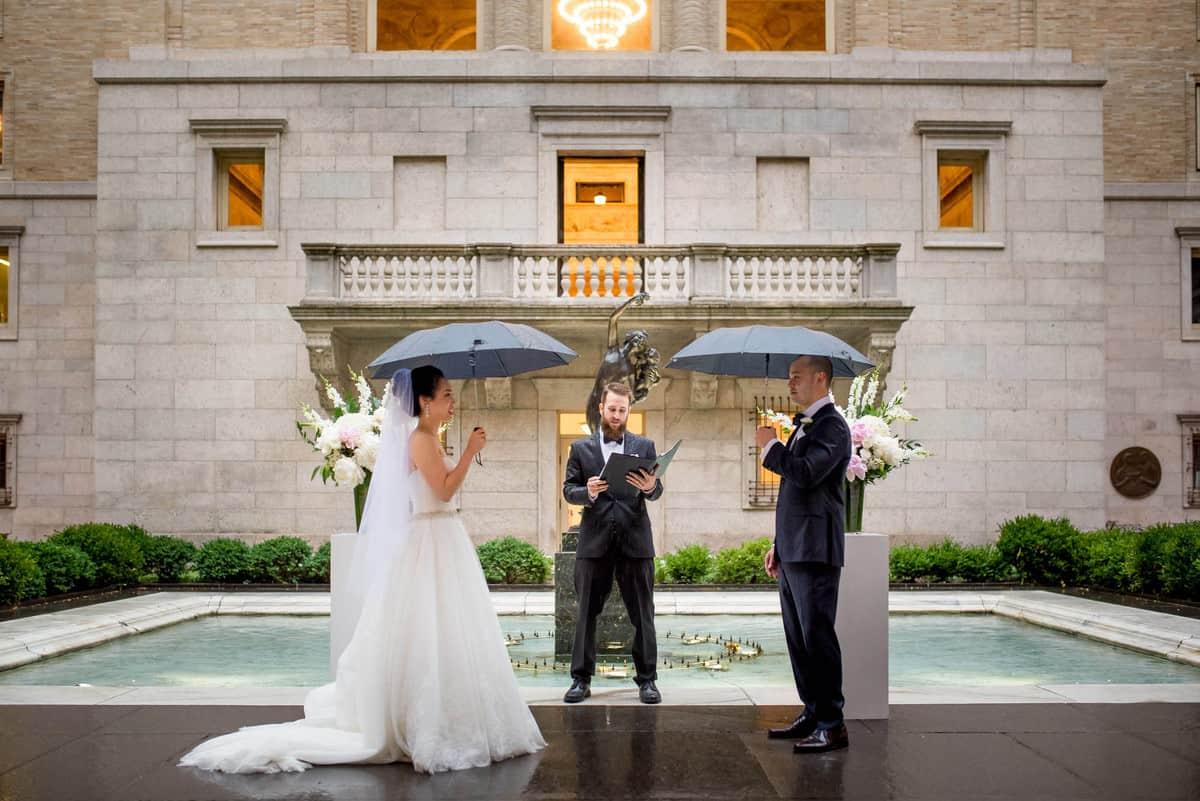 Boston Public Library Wedding Photographer Nicole Chan Photography