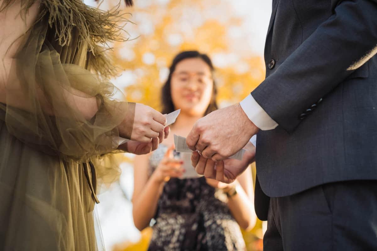 boston fall wedding photos at the Esplanade Charles River