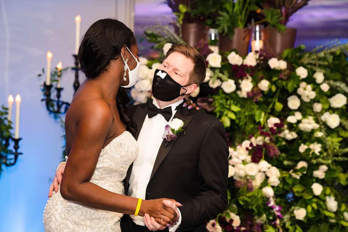 Boston covid wedding