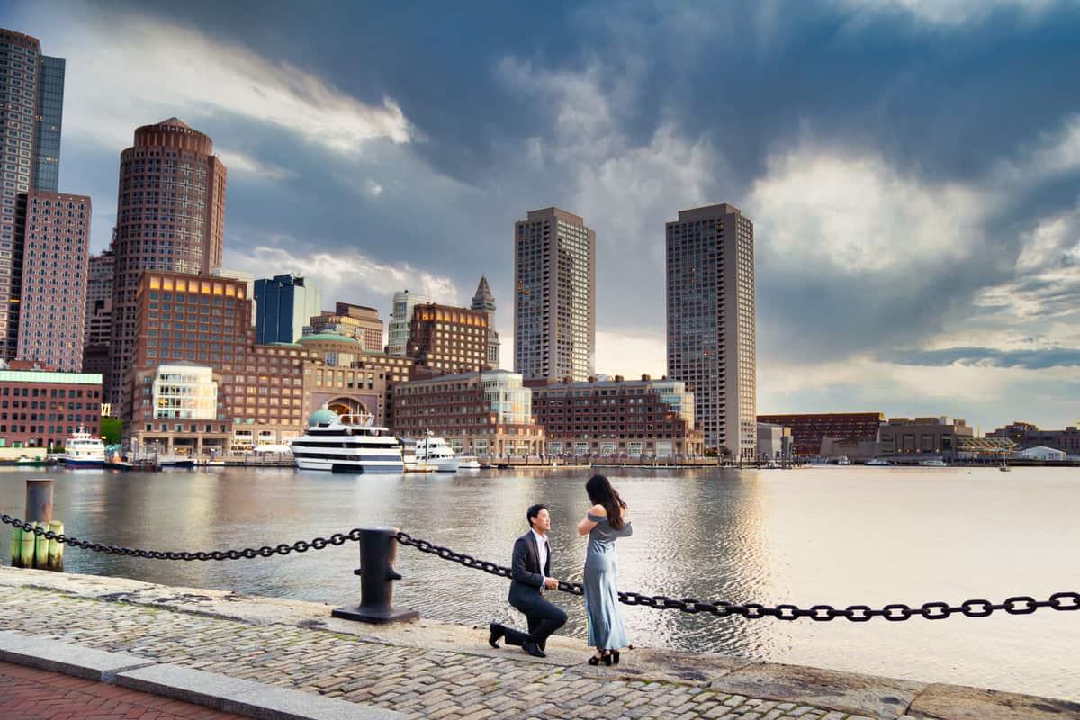 Boston Seaport Proposal Photographer Nicole Chan