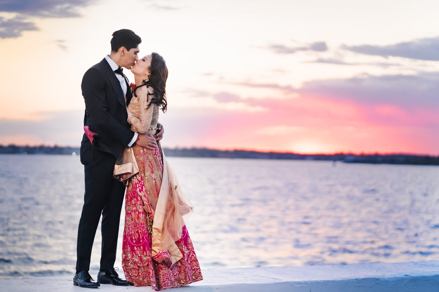 belle mer wedding by nicole chan photography