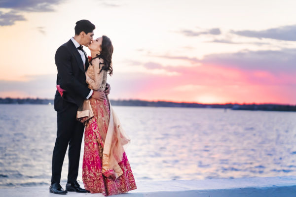 Chinese and Indian wedding at Belle Mer in Newport, Rhode Island by Nicole Chan Photography
